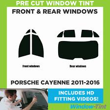Pre Cut Window Tint - Porsche Cayenne 2011-2016 - Full Kit