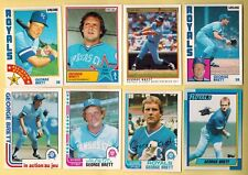 GEORGE BRETT. Baseball cards. *Build your own lot * 1978/91. OPC, Oddball, Topps