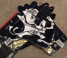 NEW 2013 ADIDAS TEAM ISSUED NOTRE DAME FOOTBALL GLOVES 2XL
