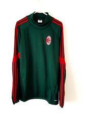 AC Milan Jumper. Small Adults. Adidas Green Long Sleeves Football Training Kit S