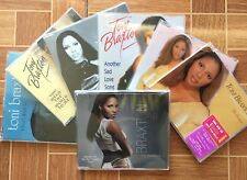 Lot of 8 CD singles by Toni Braxton - most are imports!
