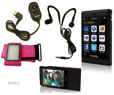 Micromax Modu T Cellphone Cellular+5MP Camera+Pink Armband Music Remote control