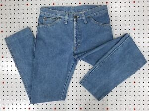 PRISTINE vtg LEE Jeans UK MADE Tapered, Light Wash Talon 42 zip 30x29 (actual)