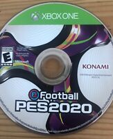 EFOOTBALL PES2020 KONAMI XBOX ONE PES SOCCER FOOTBALL 2020 *DISC ONLY*