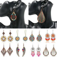 New Women's Gold/Silver Women Plated Tassel Drop Dangle Earrings Jhumka Jewelry