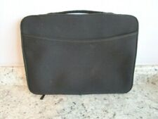Black Unbranded Zippered Laptop Sleeve Padded Protector