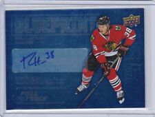 RYAN HARTMAN 2015-16 UPPER DECK FULL FORCE BLUEPRINT AUTO RC CHICAGO