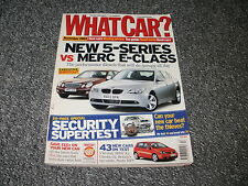 WHAT CAR ?   MAGAZINE  DECEMBER      2003      ENGLISH MONTHLY