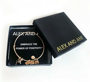 Alex and Ani Bracelet Power of Positivity Monopoly Game Lucky Charm Doggy Bangle