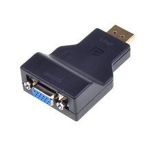 Full Size DisplayPort DP Male to VGA Female Adapter Converter