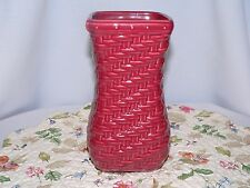 Longaberger Woven Reflections Small Vase Paprika Last 1 - New