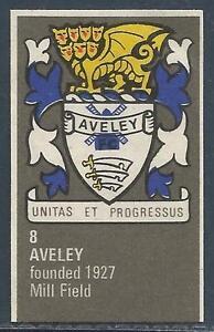 BARTHOLOMEWS 1970'S CREST #008-AVELEY