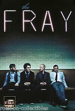 The Fray 2008 Original Self - Titled Album Release Double Sided Promo Poster