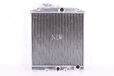 ALUMINUM RADIATOR 92-00 HONDA CIVIC 2 ROWS EG EK RACING SPEC PERFORMANCE MANUAL