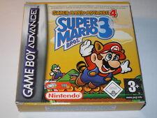Jeu vidéo Nintendo GBA Game boy advance Super Mario Advance 4 Super Mario Bros 3