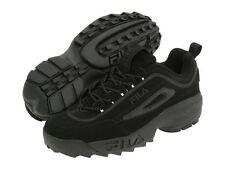 Fila Disruptor II Fb Triple Black Mens Sneakers Shoes Sizes 7 -14 US