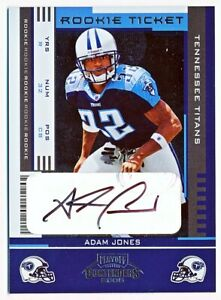 2005 Contenders Football Rookie Ticket Autograph Auto SP Rc - You Pick