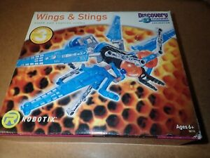 ROBOTIX learning curb CYBERNATIC wings and stings insects build any of three