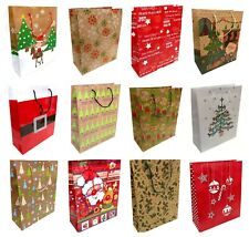 3 x Large Christmas Gift Bags Wrapping Present Party Bag Xmas Bags