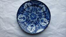 DELFT. Assiette faience. 17/18ème. Marque. Antique Delft plate...AA
