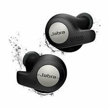 Jabra Elite Active 65t Wireless Earbuds with Charging Case – Black (Renewed)