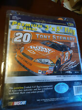 Tony Stewart #20 Home Depot Double sided 3 x 5 Flag Lot of 2 NEW 2007 and 2008