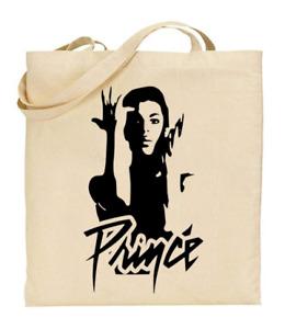 Shopper Tote Bag Cotton Canvas Cool Icon Stars Prince Ideal Gift Present