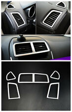 US Ship Air Vent Outlet Cover Trim 5pcs for Mitsubishi Outlander Sport 2010-2017