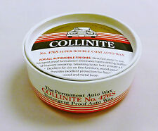 Collinite 476s Paste Wax 9oz + FREE Microfibre Applicator
