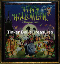 Disney Pin Dlp - Halloween 2008 - Mickey Donald Tink Jack Sally Zero
