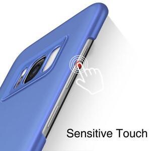 Galaxy S8 Plus Case, TORRAS Slim Fit 2 in 1 Hybrid Anti Fingerprint Blue Coral