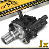 Engine Coolant Thermostat Assembly w/ Sensor for Chevy Cruze Limited Sonic 1.8L
