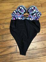 Cupsay Swim Cheeky Gal Monokini Swimsuit Sexy  Size XXL
