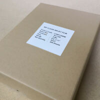 "8.5"" x 11"" 100 sheets Waterproof inkjet transparency film for screen printing"