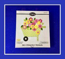 Sizzix WHEELBARROW & FLOWERS #557698 BIGZ DIE ***NEW***