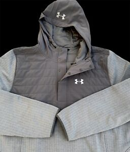 Under Armour Cold Gear Storm Henley Swacket Jacket Hoodie Pullvoer 4XLT $124.99