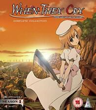 When They Cry S1 Collection BLU-RAY [2019] [DVD][Region 2]