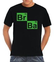 BR BA Breaking Bad Inspired Parody Unisex T-Shirt Walter White Meth Labs