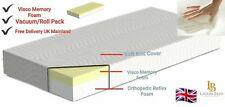 "Orthopaedic Memory Foam Mattress in All Sizes 3ft,4ft,4ft6,5ft + 4""5""6""8""10""12"""