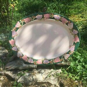 Ancien Plat en céramique signé TIFFANY, art déco collection