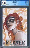 Reaver 1 (Image) CGC 9.8 White Pages Justin Jordan story Rebekah Isaacs art