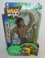 Max Steel Super-spit Bio-constrictor Action Figure Mattel 2002