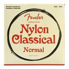 Fender Classical Guitar Strings, Tie-End, Nylon, .028-.043 Gauges