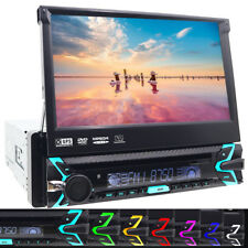 AUTORADIO RADIO COCHE CON BLUETOOTH PANTALLA GPS NAVIGATION DVD CD USB MP3 1DIN