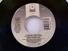 """SWEET SENSATION """"IF WISHES CAME TRUE / LP PREVIEW"""" 45"""