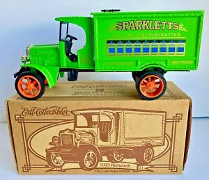 Ertl Collectibles 1925 Kenworth Sparkletts Truck Die-cast  1/34 Scale