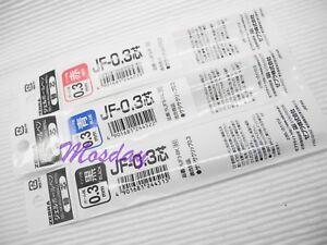 30 x Zebra SARASA Retractable RollerBall Pen Refills 0.3mm Micro Fine, BK, L, R