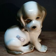 "Vintage Robert Simmons Ceramic St Bernard Dog Figurine ""Bernie-149"""