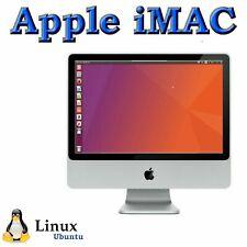 "Apple iMac All-in-One Desktop Computer 20"", 2GB RAM, linux ubuntu , WiFi, Webcam"