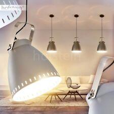 graue Ess Wohn Schlaf Zimmer Raum Hänge Lampe Leuchte drehbar Pendel Beleuchtung